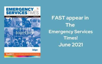 FAST appear in The Emergency Services Times!