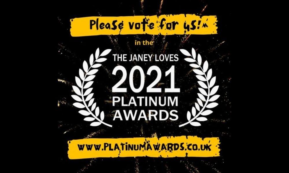 The Janey Loves 2021 Platinum Awards - Vote for FAST