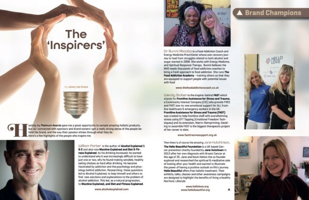 FAST Have been featured in The Inspirers
